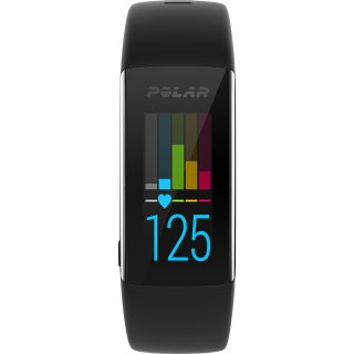 Polar A360 Fitness und Activity Tracker Schwarz L 90057424