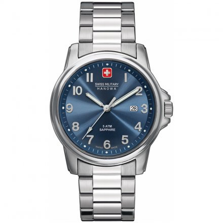 Swiss Military Hanowa Swiss Soldier Prime Blau Silberfarben 06-5231.04.003