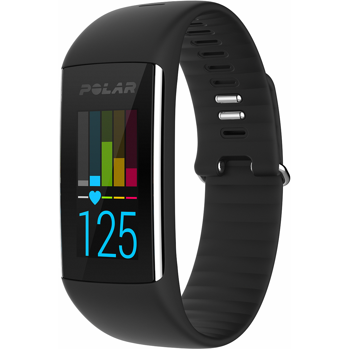 Polar A360 Fitness und Activity Tracker Schwarz M 90057421